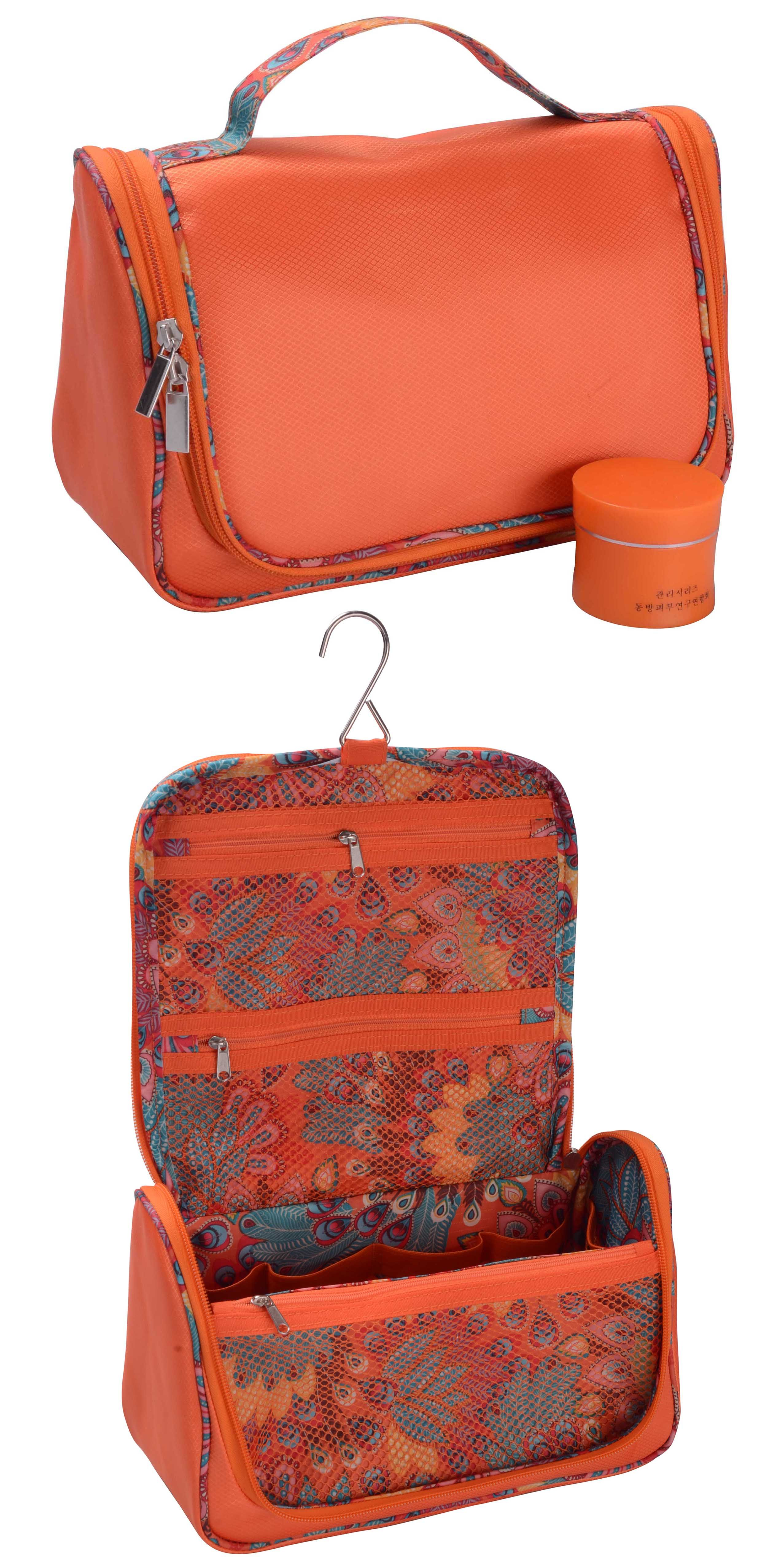 High grade hanging toiletry bag, smart shape and style