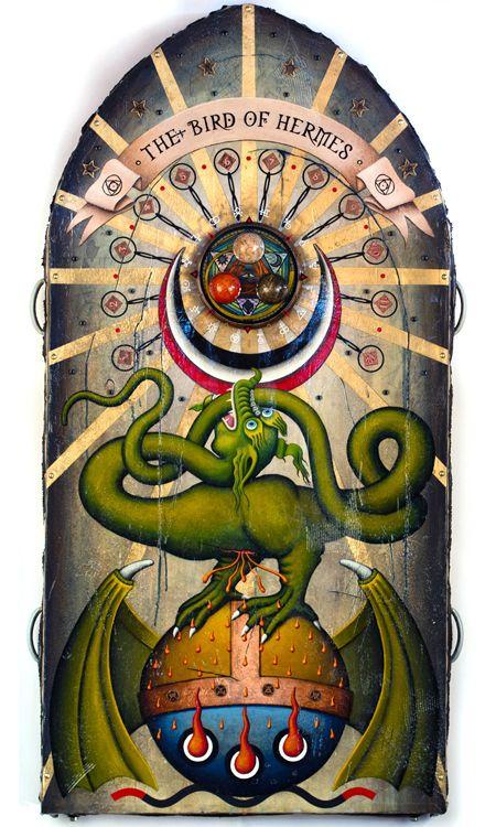 The Bird Of Hermes Alchemy Symbols Pinterest Alchemy