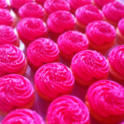 Bright Pink Food