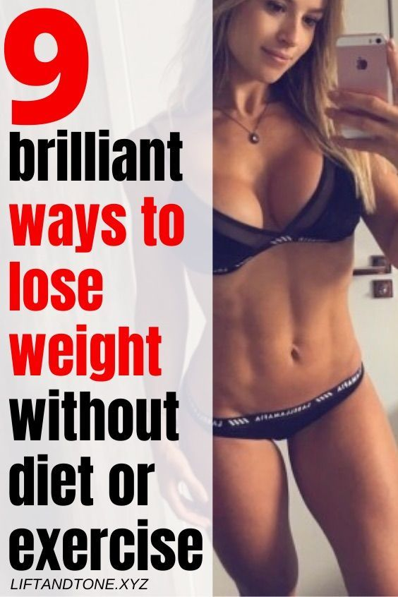 9 brilliant ways to slim down without diet or exercise | best way to lose weight fast | get fit fast...