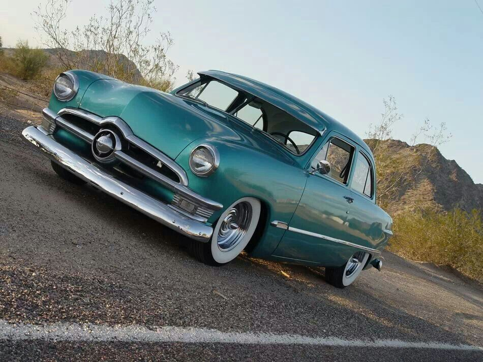1950 Ford Customline Oh You Know Because It S The Color The