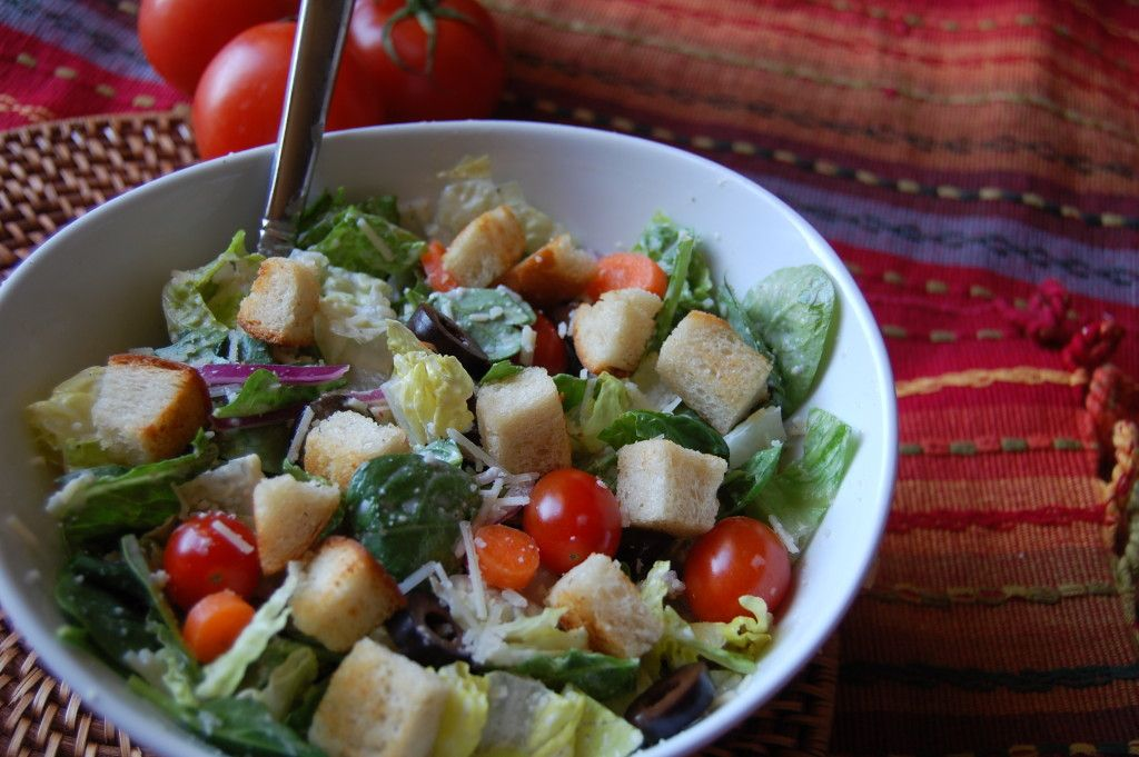 My version of the famous Olive Gardens Salad http//www