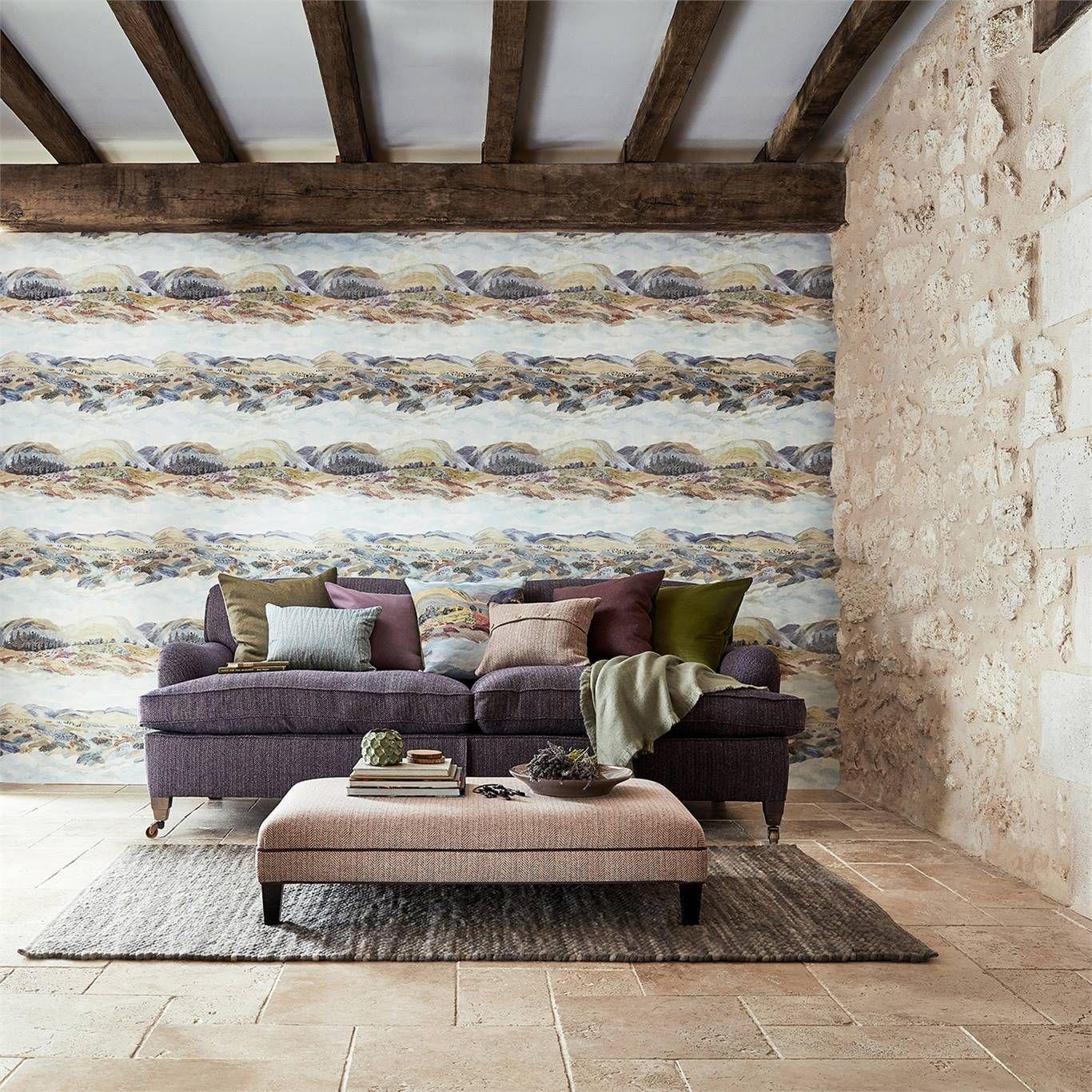 Sanderson Elysian Fig Wallpaper 216592 Stunning Wallpapers Interior Shutters Home Decor
