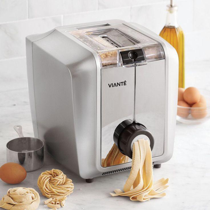 Cool Kitchen Stuff: Vianté® Electric Pasta Maker