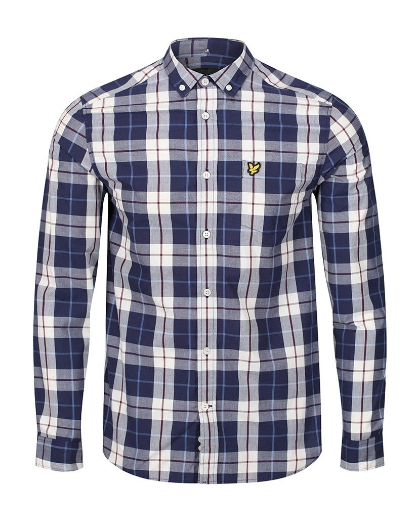 df16e62ff6 This Lyle  amp  Scott Men s Poplin Check Shirt is a great addition to any  wardrobe
