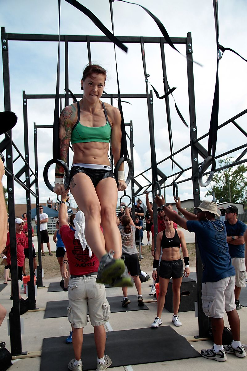 Christmas Abbott Jealous Of 2 Thingsab Definition And Her Killer Muscle Ups