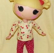 Lalaloopsy A-line Top and Pants, Bag - via @Craftsy