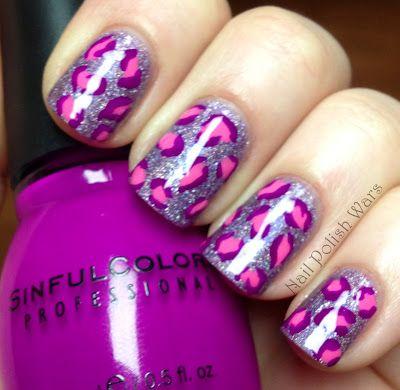 Leopardo morado