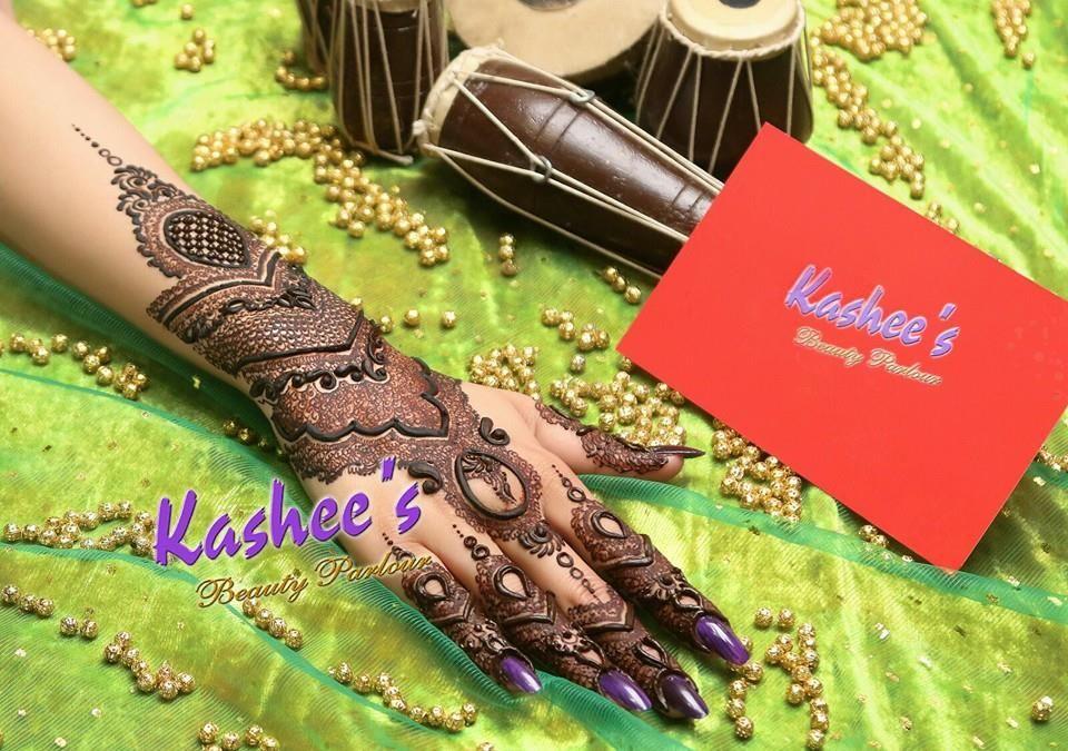 Bridal Mehndi Kashee S : Design by kashee s beauty parlour bridal mehndi designs