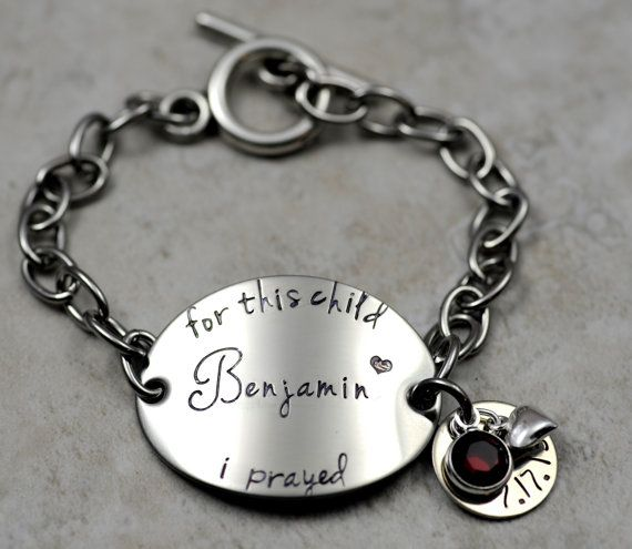 MOMMY MOM BRACELET for her Personalized Hand by SecretSphynx, $29.50