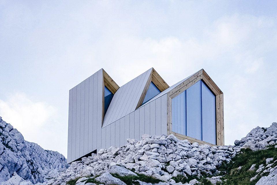 Skuta Mountain Shelter Cabin Fever Architettura