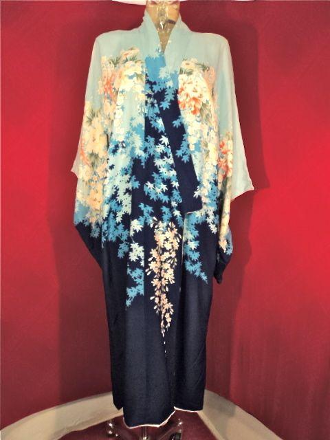 Stunning 1940 vintage Kimono one size xEzMIMX
