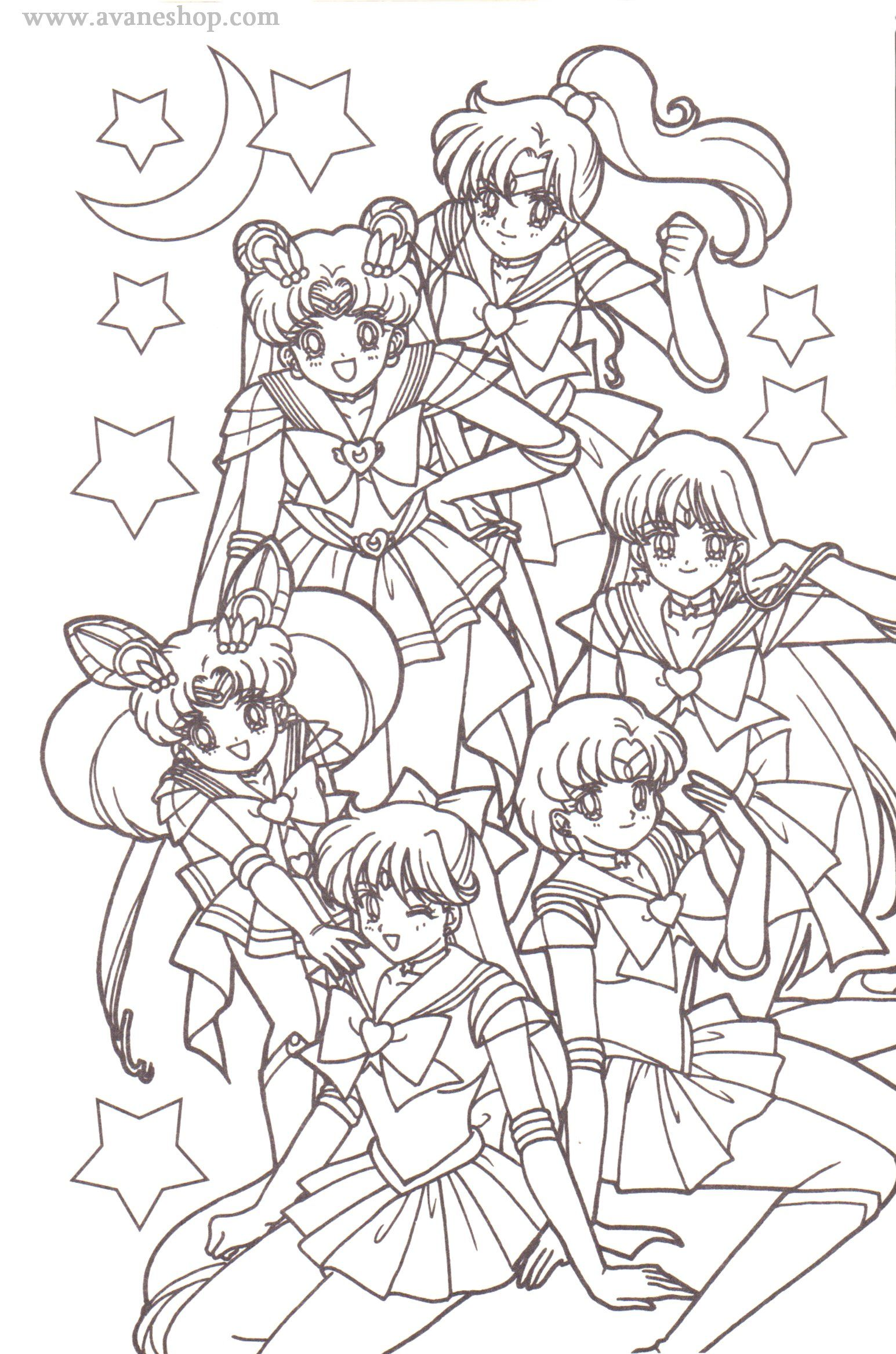 sailor moon coloring pages for 2019 http://www