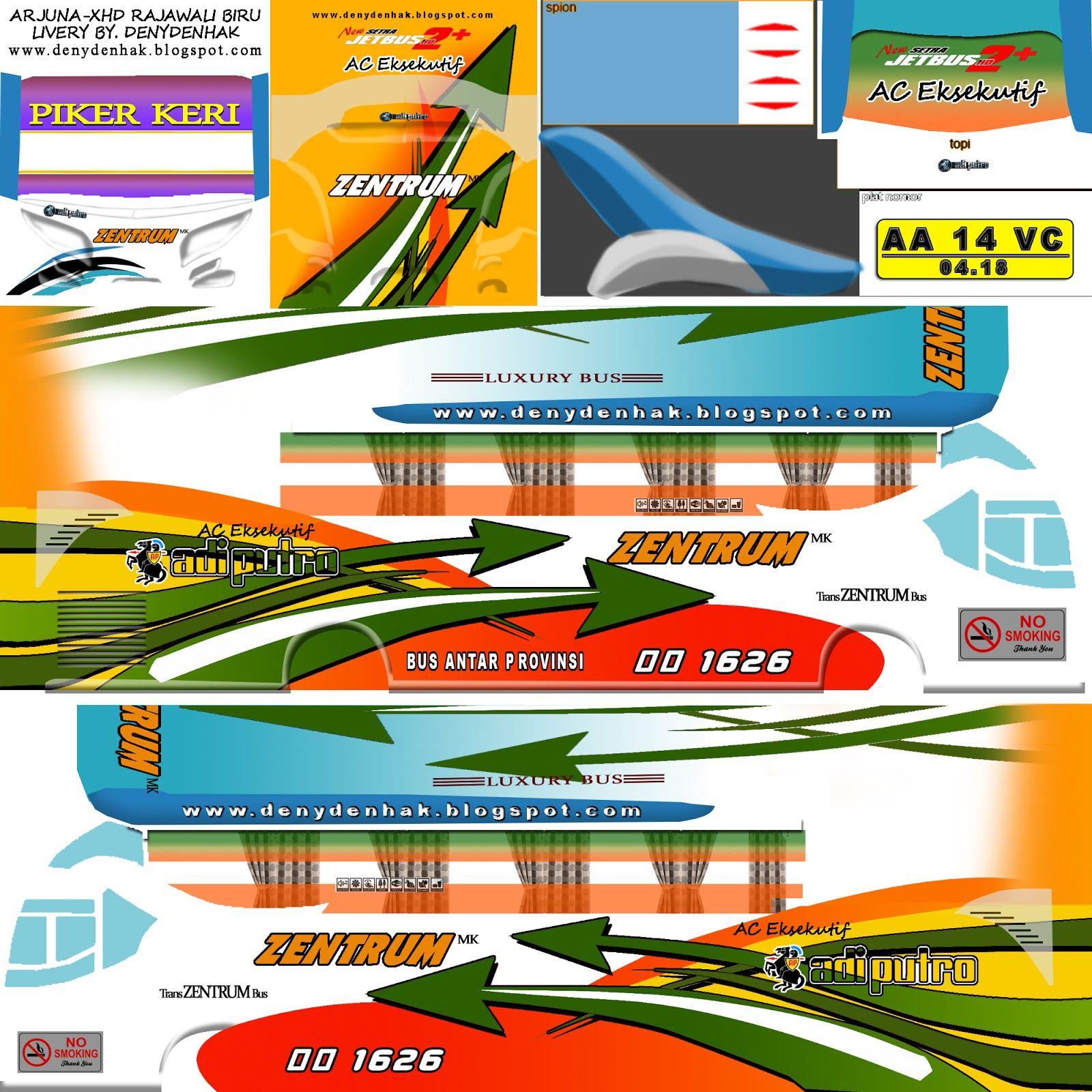 101+ Livery BUSSID (Bus Simulator Indonesia) HD SHD