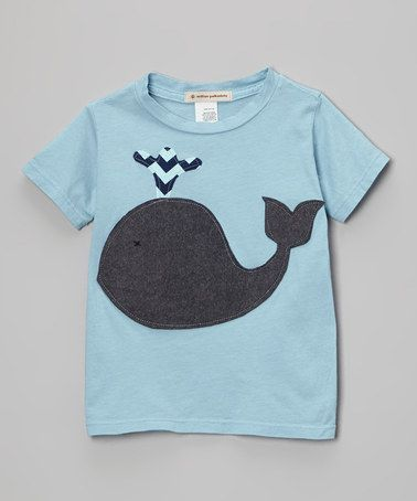 Take a look at this Blue Whale Tee - Infant, Toddler & Kids by Wonder Me on #zulily today!