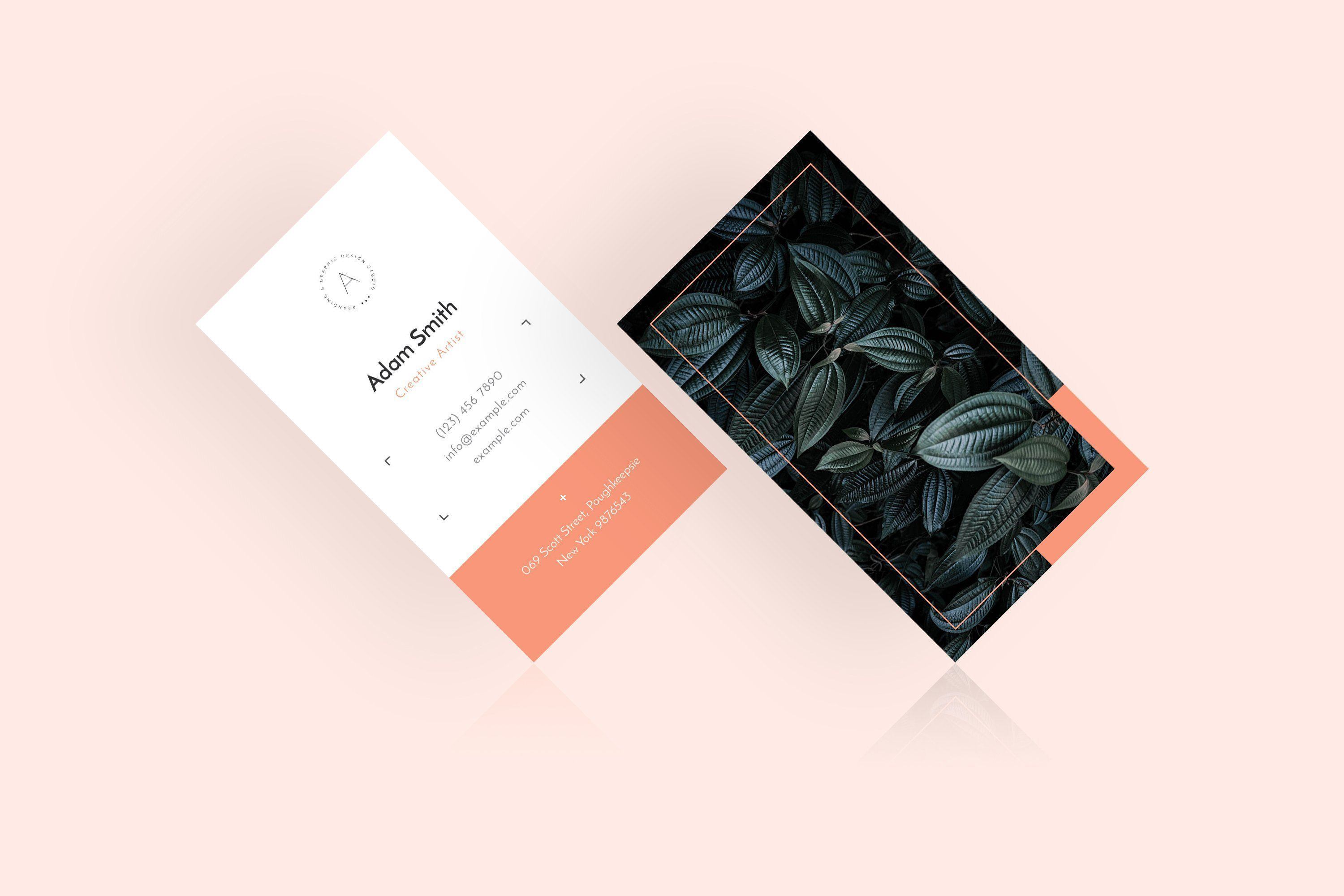 Elegant Business Card Template A Classy Beautiful And Modern