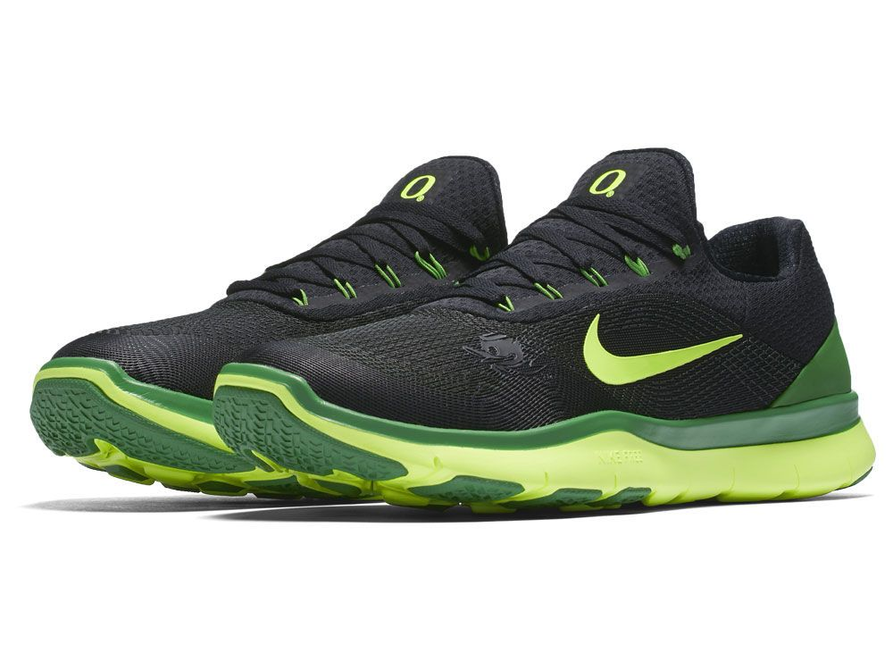 newest collection dbfa2 bc072 ... Oregon Ducks Nike NCAA Free Trainer V7 Shoes- Available now at Lids ...