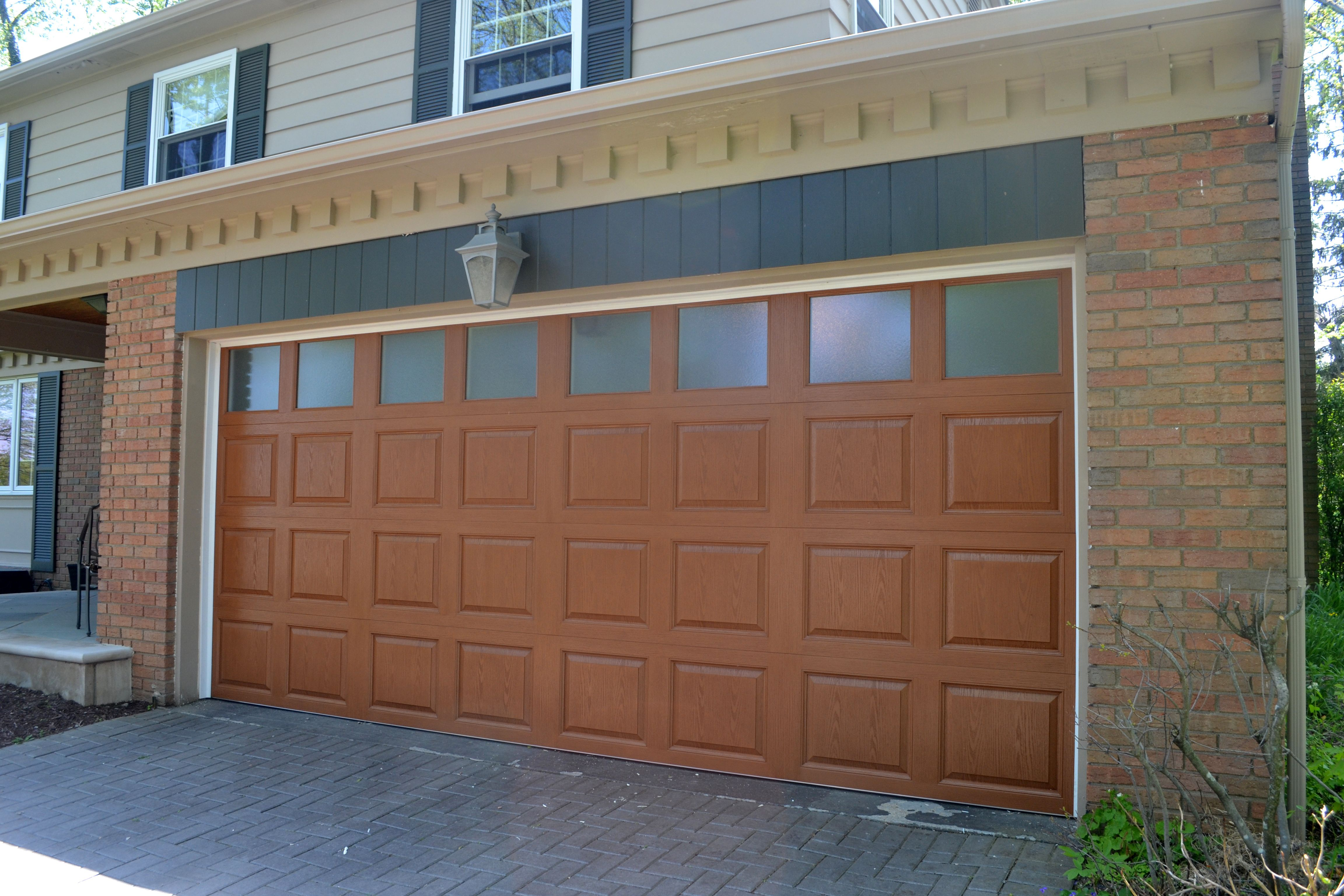 Garage Doors Knoxville C H I Overhead Doors Fiberglass Garage Door Model 2751 In