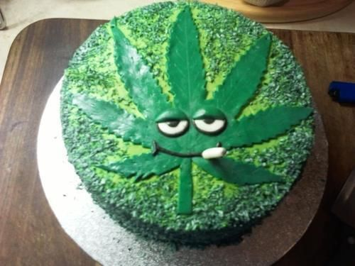 A collection of Weed Birthday Cakes Marijuana Memes Cake