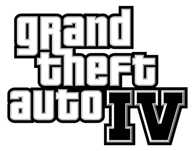 Grand Theft Auto IV Art & Pictures, GTA4 Logo | Video Games