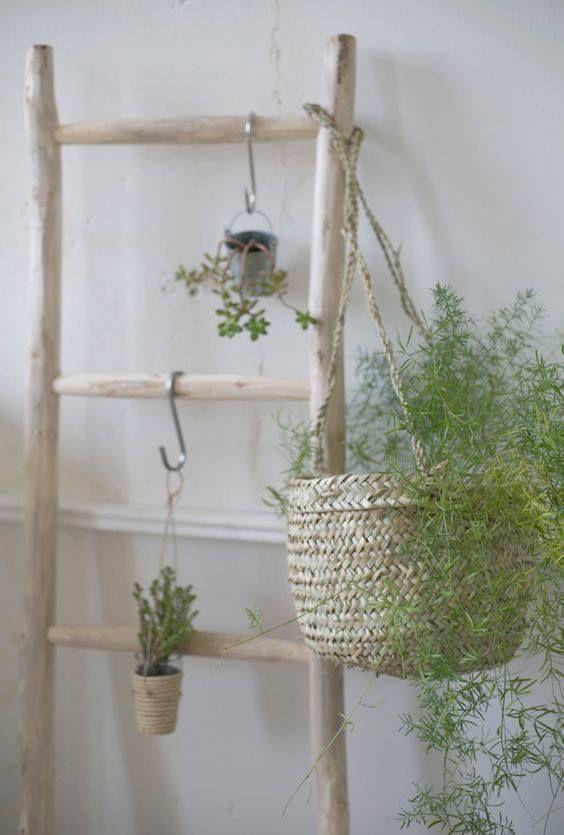 Design | Baskets everywhere #AmericanVintage #Journal