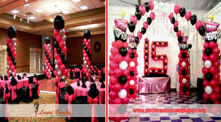 Encuentra muchas ideas creativas unicas de decoracion para for Arreglos de salon para quince anos