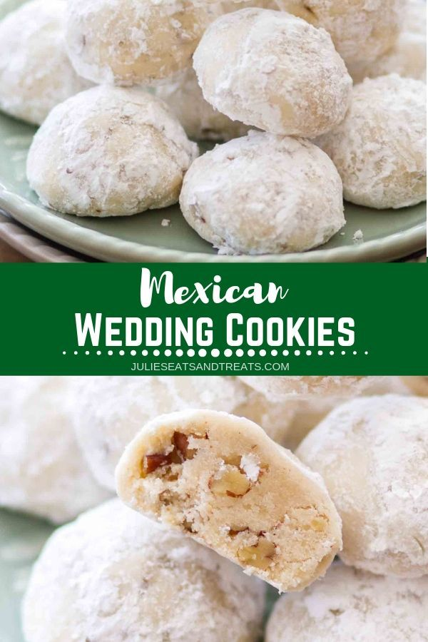 Mexican Wedding Cookies #christmascookies
