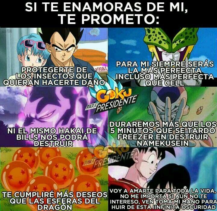 Pin De El Coleccionista En Amor Y Desamor Personajes De Goku Personajes De Dragon Ball Frases Goku