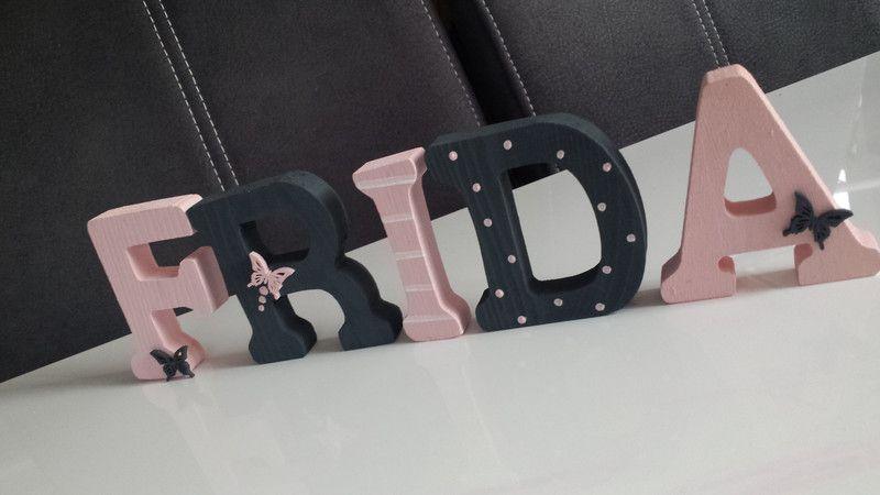 Pin von Tanja Wilms auf Basteln Holzbuchstaben