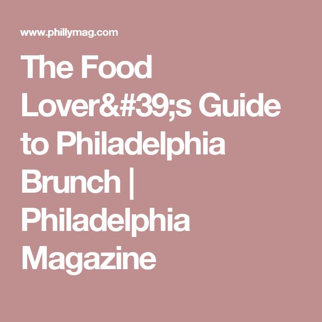 Best Food Options In Philadelphia