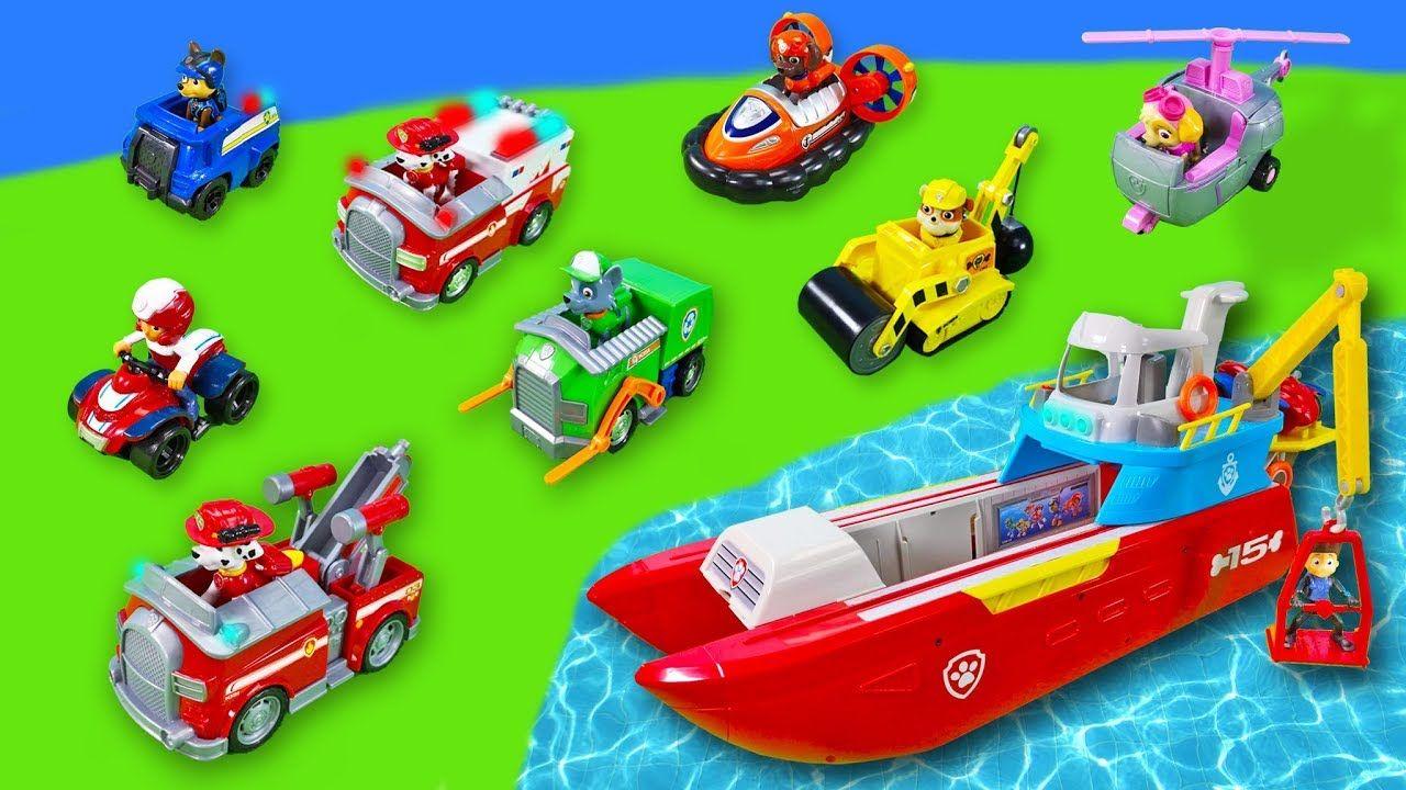 Paw Patrol Spielzeug Unboxing Sea Patroller