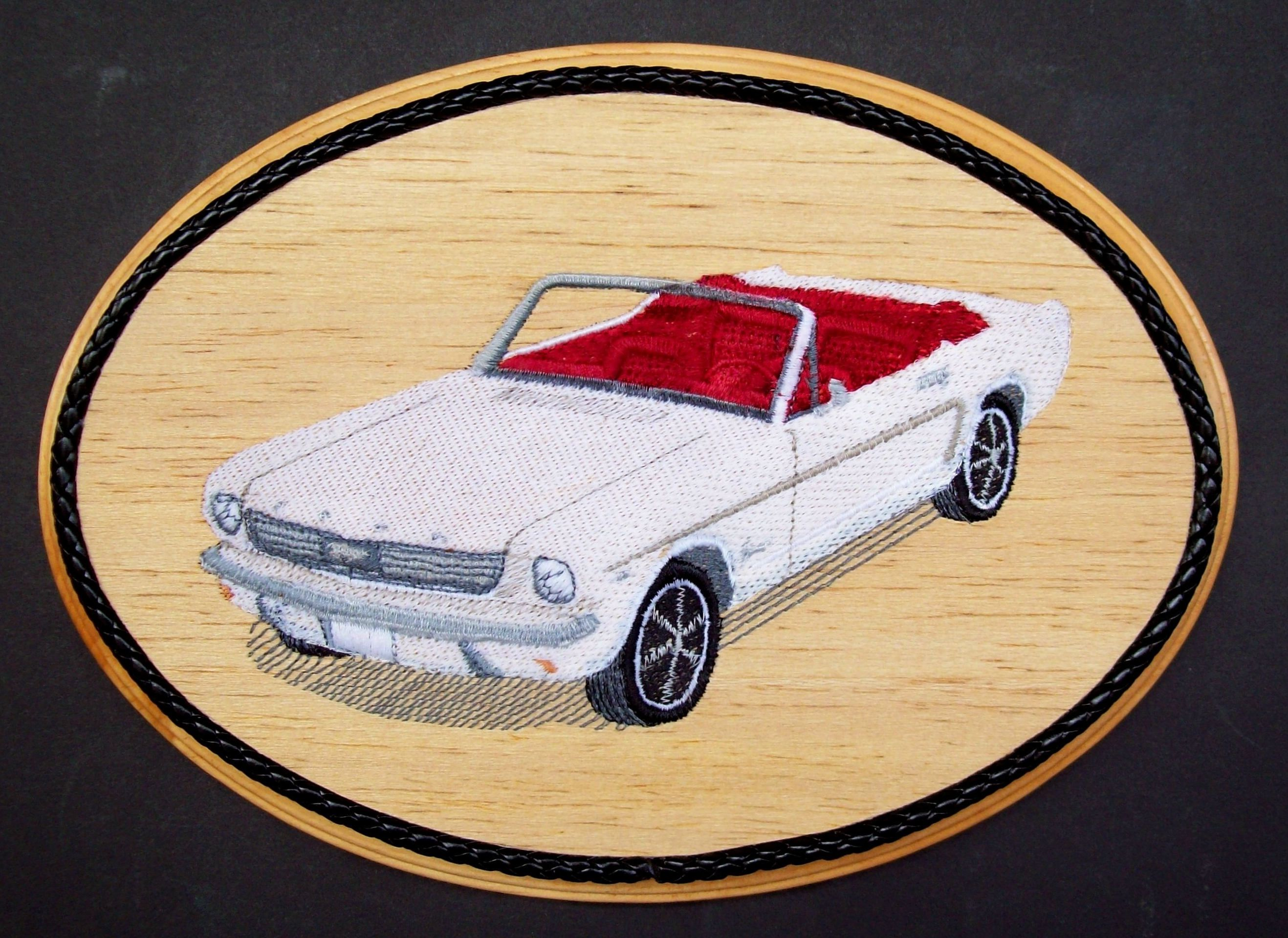 1964 Ford Mustang, Embroidery Wood Art, Classic Cars, Muscle Cars ...