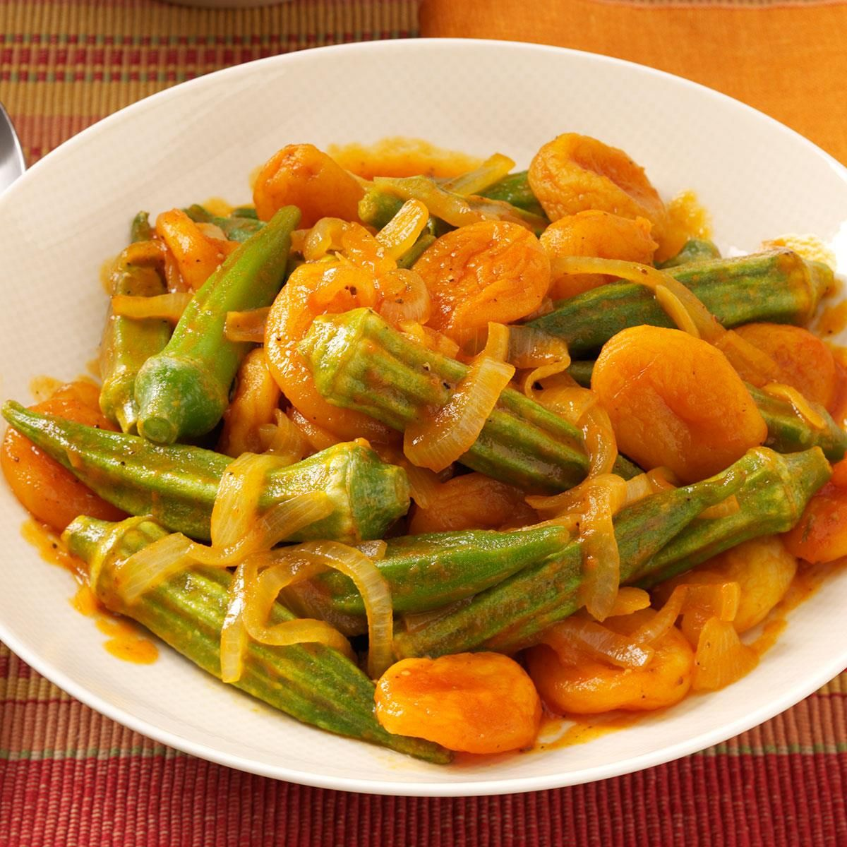 Turkish Home Recipes from a New York Home: Okra with ... |Turkish Food With Okra