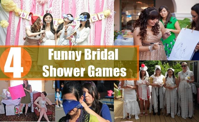 4 Funny Bridal Shower
