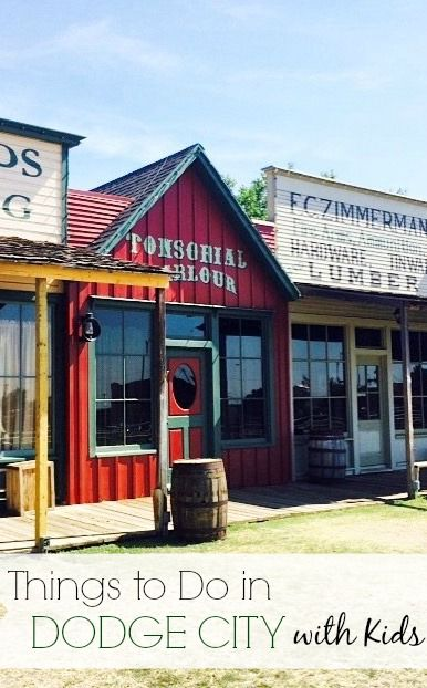 10 Really Cool Things To Do In Dodge City Kansas Dodge City Dodge City Kansas Big Family Travel