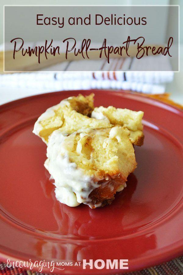 Pumpkin Pull Apart Bread images