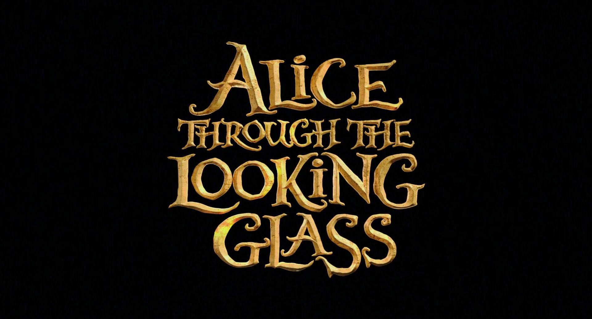 Картинки по запросу alice through the looking glass title