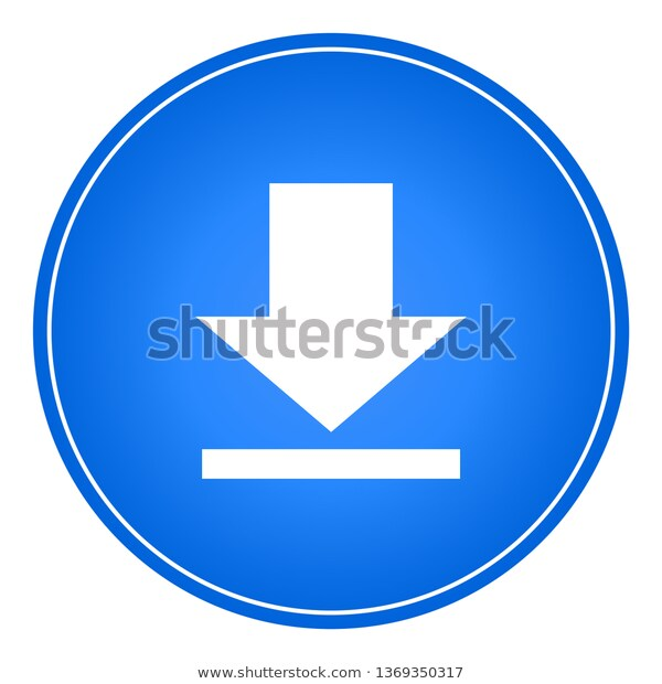 Download Icon Button Web Vector New Stock Vector download