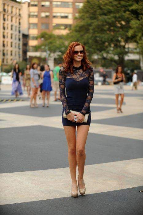 This girl rocks ! ! I enjoy her reddish colored hairs!