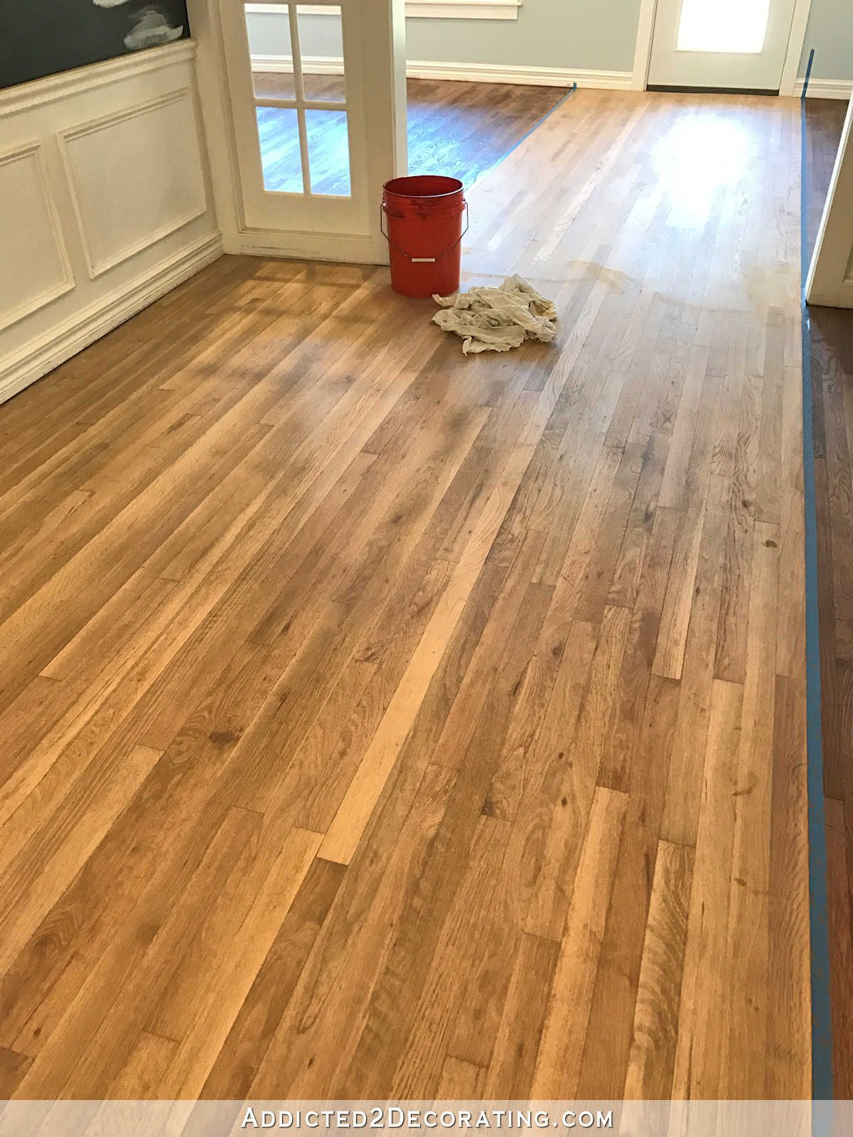 Staining Red Oak Hardwood Floors 8 Entryway And Music Room Wood Conditioner