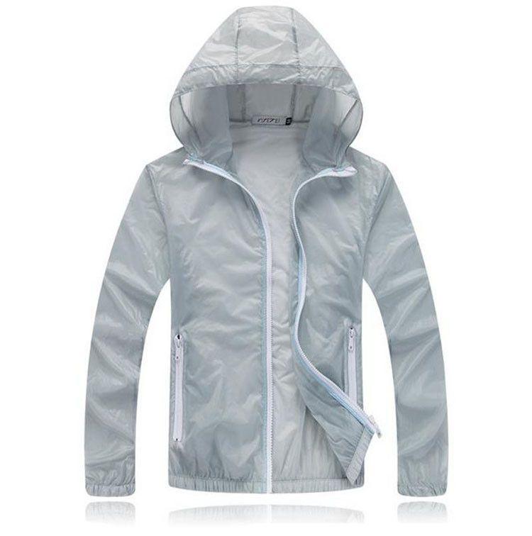 New Men Women Quick Dry Jackets Ultra-Light Windbreaker