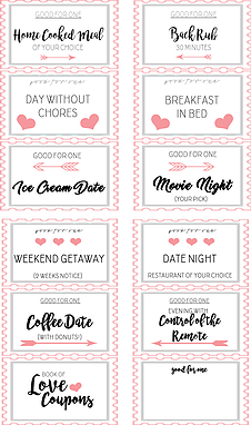 Diy Gifts For Valentine S Day Coupon Book Diy Coupons For Boyfriend Coupon Books For Boyfriend