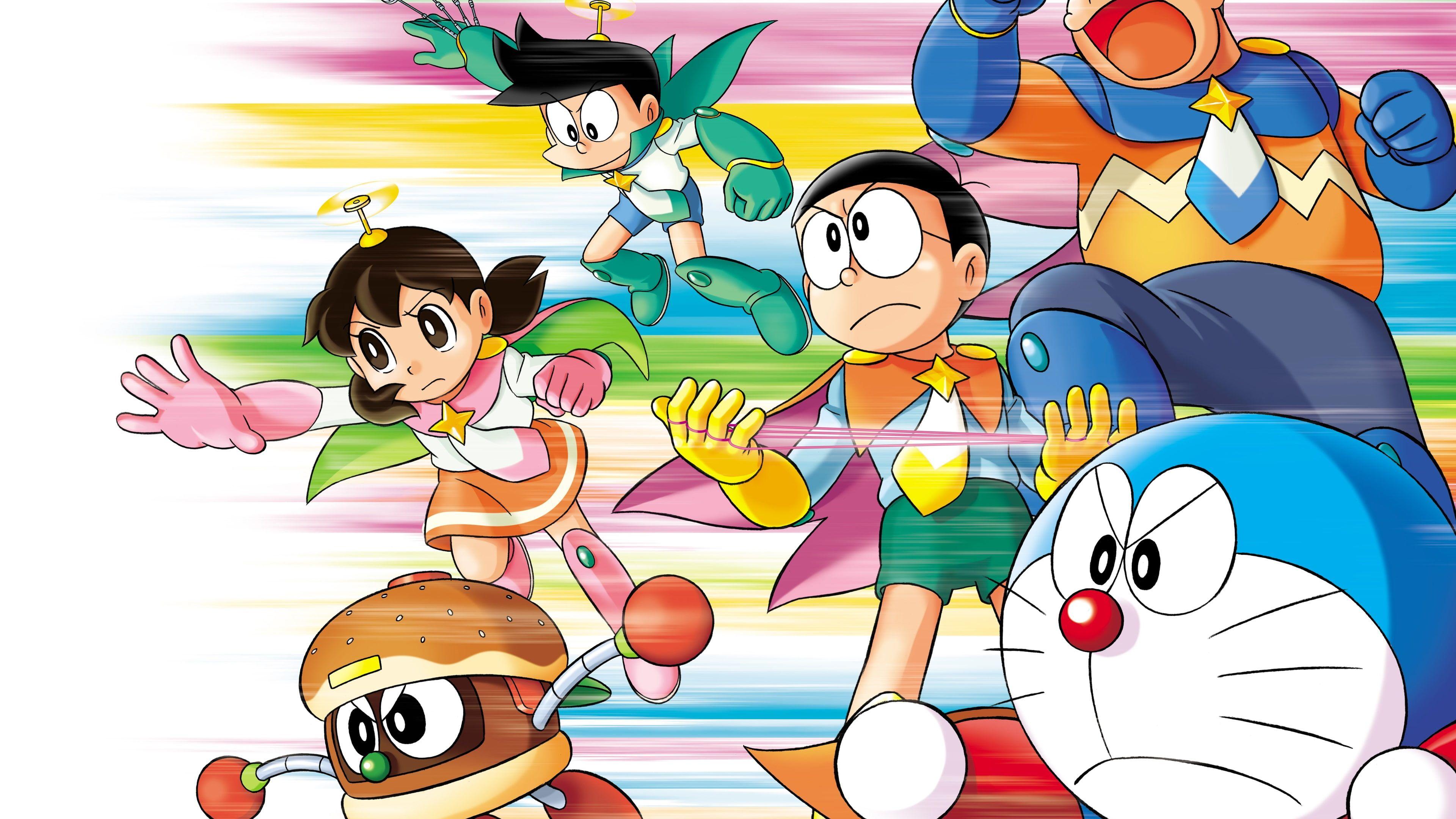 Japanese Anime Doraemon Doraemon Characters Illustration Japanese Anime Doraemon 4k Wallpaper Hdwallpaper Desktop Character Wallpaper Anime Doraemon Doraemon nobita wallpaper images