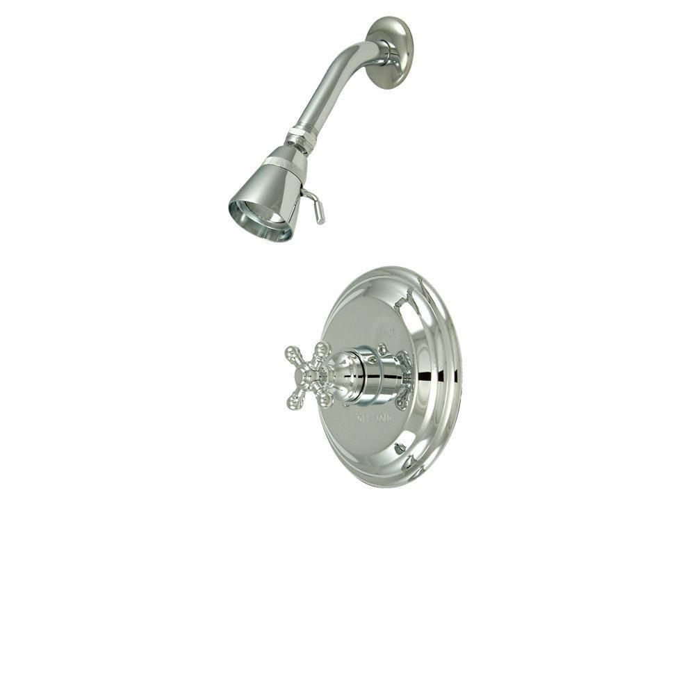 Kingston Brass Metropolitan Chrome Single Handle Shower Only ...