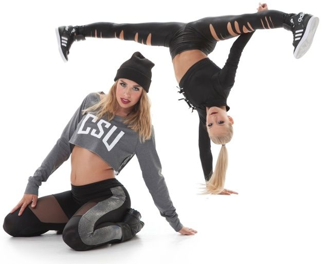 Hip Hop dance costume trend #9: grunge influence. Check our the full list