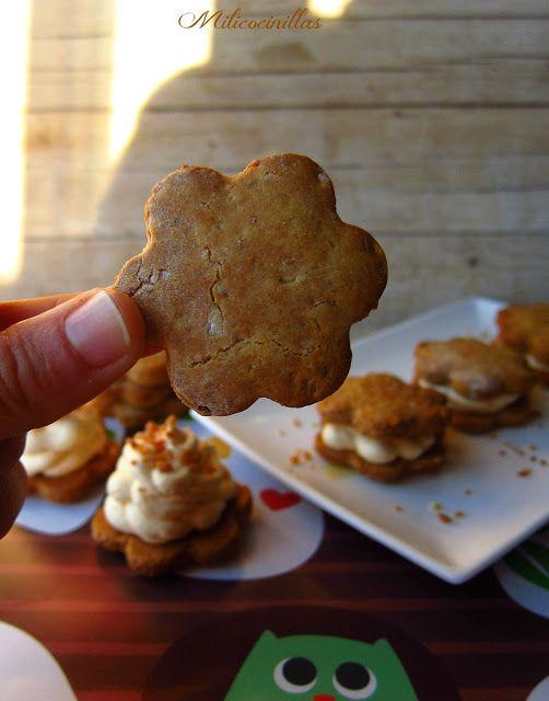 Galletas caseras rellenas de crema de naranja Sin gluten y sin ...
