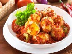 Resep Masakan Telur Balado Pedas Manis Malaysian Food Indonesian Chicken Recipe Asian Recipes