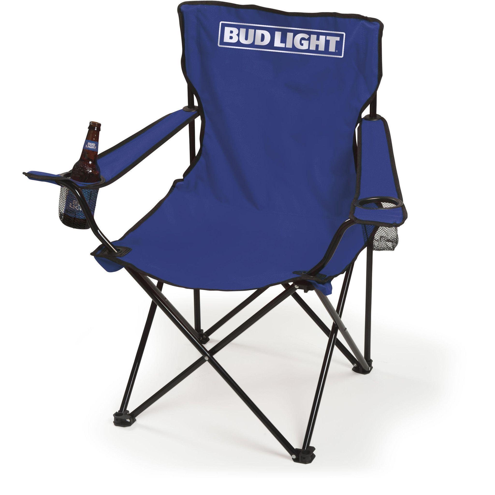 Enjoyable Bud Light Folding Bag Chair Chair Folding Chair Outdoor Inzonedesignstudio Interior Chair Design Inzonedesignstudiocom