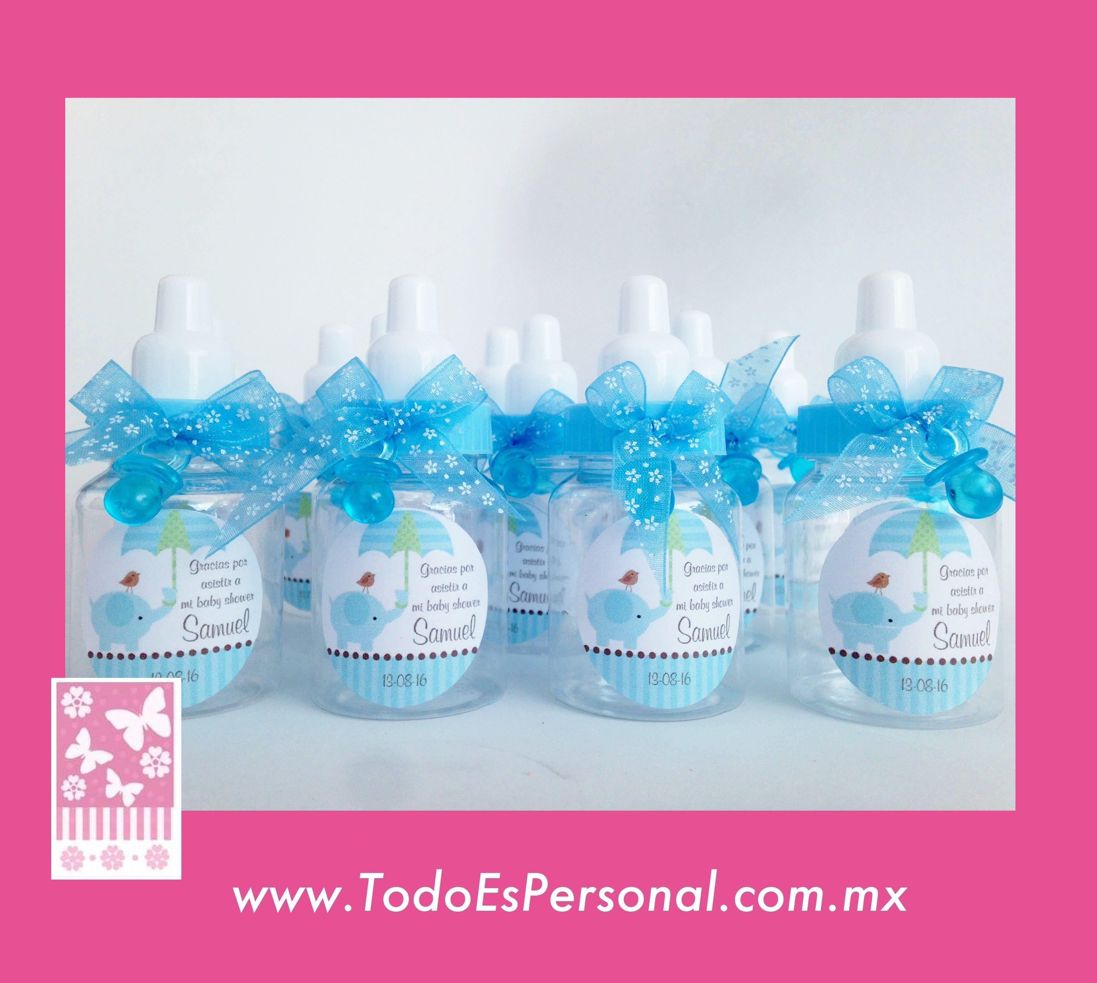 Baby Shower Manualidades Recuerdos ~ Recuerdos para baby shower niño mamilas c u