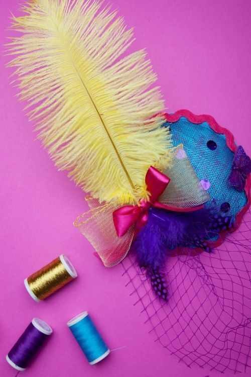 Fascinator Making with Betty s Birds shows you and your girls how with our  creative workshops. e681a454269